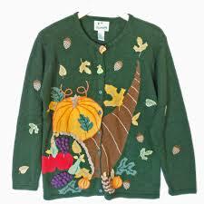quacker factory autumn cornucopia thanksgiving sweater the