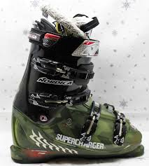 womens size 11 in ski boots nordica supercharger ignition ski boots green size 10
