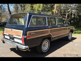 midnight blue jeep 1987 jeep grand wagoneer grand wagoneer by classic gentleman