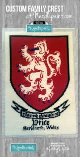 family crest needlepoint needlepoint kits and canvas designs