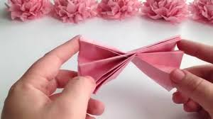tissue paper flowers diy tissue paper flower tutorial