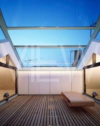 glass roof house private house covered rooftop with movable glass roof pinteres