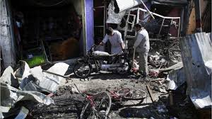afghan hound attack 24 killed by car bomb in afghan capital youtube
