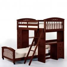 Bunk Beds For College Students Student Loft Bed With Desk Foter