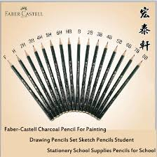 pencil for painting faber castell charcoal pencil for painting drawing pencils set
