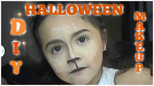 bambi deer diy kids halloween makeup tutorial youtube