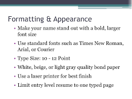 Best Font And Size For Resume by Resumes For High Students What Is A Resume A Resume Is A
