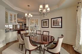 Traditional Dining Room Traditional Dining Room With Wainscoting By Hanson Severson Real