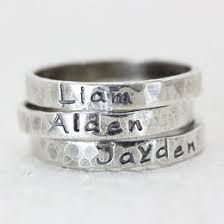 stackable personalized rings name rings ideas collections