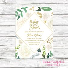 baby shower brunch invitations baby shower brunch invitation gender neutral baby shower