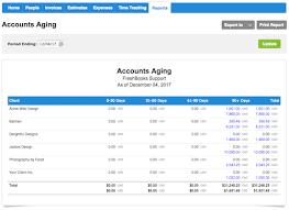aging report template what is an accounts aging report freshbooks