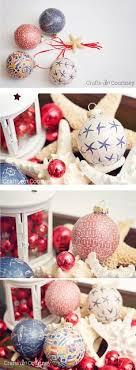 mod podge nautical ornaments ornament crafts