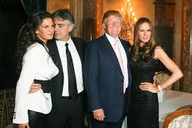 Blind Italian Singer Time To Say Goodbye Andrea Bocelli U0027bails Out Of Donald Trump Inauguration Due To