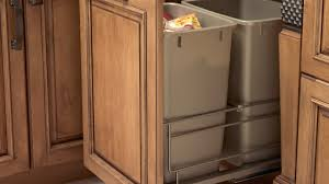 Kitchen Cabinet Trash Unique Kitchen Trash Can Storage Cabinet Tags Kitchen Garbage