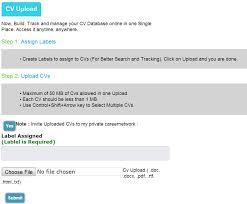 parse resume exle based resume database software
