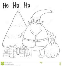 coloring page of santa elegant santa claus coloring pages with