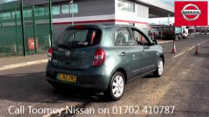 nissan micra hatchback for sale 2011 nissan micra acenta 1 2l tungsten grey ej60zmz for sale at