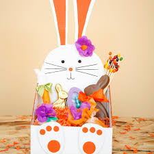bunny easter basket bunny easter box family crafts