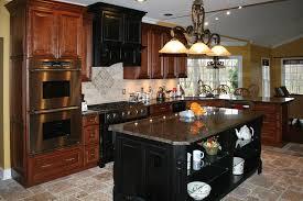 Distressed Wood Kitchen Cabinets Kitchens8l Distressed Cherry Kitchen Cabinets Travertine Tile