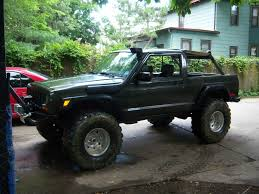 built jeep cherokee it is really realistic to chop off back piece off a cherokee