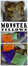 pieces by polly monster pillows halloween pillows at see