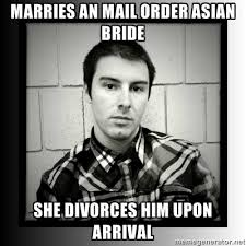 Mail Order Bride Meme - when are you going to get married alex gender inequality