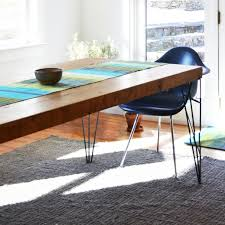 modern bohemian table runner blue green turquoise bolé toad