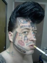 face tattoos team jimmy joe