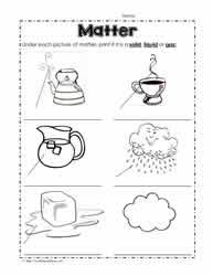 ideas collection states of matter worksheets for 2nd grade with