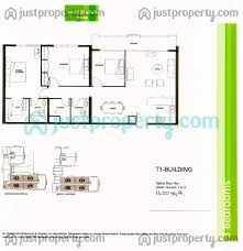 Floor Plan To Scale by Al Sidir Ghaf Jaz Views Floor Plans Justproperty Com
