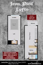 2 story loft floor plans iron bird lofts