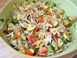 summer vegetable pasta salad budget bytes