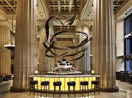 the magnificent bar of nobu downtown in new york city features