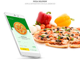 application cuisine android maxy pizza application for android on behance