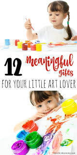 meaningful gifts for kids who love arts and crafts