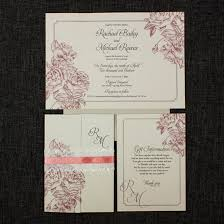 Wedding Invitations Information Etched Roses Gatefold Wedding Invitation Be My Guest