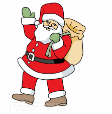 santa clipart animated pencil and in color santa clipart animated