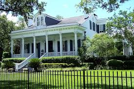 New Orleans Style Home Plans Raised Center Hall Cottage Or Villa American Architectural