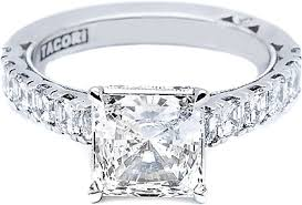 princess cut engagement ring tacori princess cut engagement ring 35pr