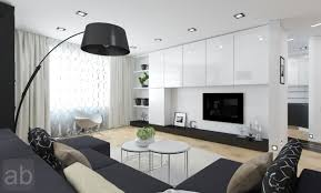 Black White Interior by Living Room Interior Cool Picture Of Modern Red Black And White
