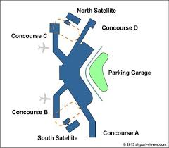 seattle airport terminal map seattle tacoma airport location parking and terminal information