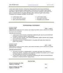 Best Font For Science Resume by Best Font For Resume Calibri
