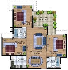 3 bhk house plans according to vastu