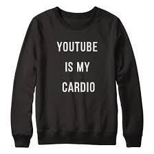 this is my sweater is my cardio sweatshirt stylecotton