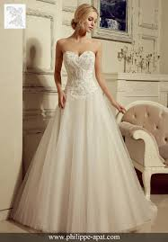 robe de mari e chetre chic robe de mariée 2016 2017 bustier dentelles philippe apat