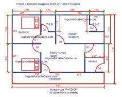 Standard Size Of Master Bedroom In Meters Prefab House Plans Nigeria U2013 Free Prefab And Steel Building Plans