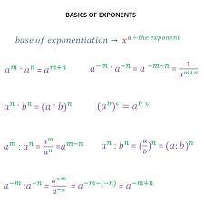 mathematical reasoning exponents