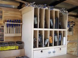 trailer nail gun organizer nail gun guns and woodworking