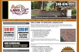 Landscape Supply Company by Website Design U0026 Internet Marketing For Landscape Supplier In