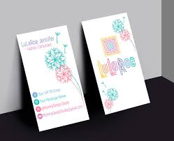 Job Title On Business Card Lularoe Business Card Home Office Compliant Vertical
